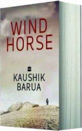 Windhorse Kaushik Barua HarperCollins 2013 English Fiction/Paperback pp 390/INR 450