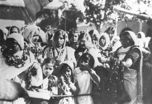 Figure 10. Women released from prison in Lahore, 1931