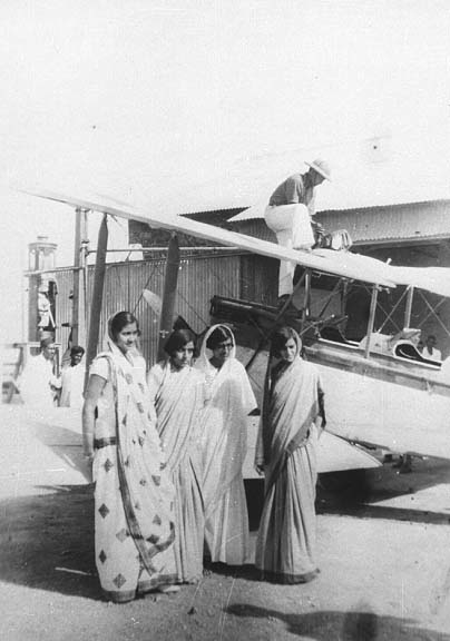 Figure 11. Manmohini and friends, 1931