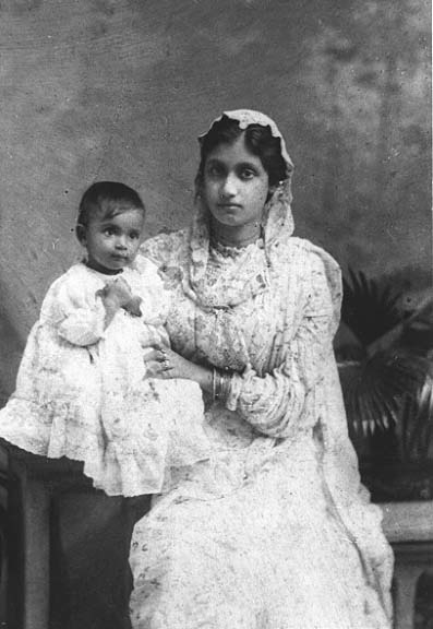 Figure 2. Woman with child, c. 1910