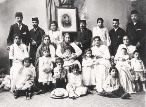 Figure 3. Parsi Family, c. 1906
