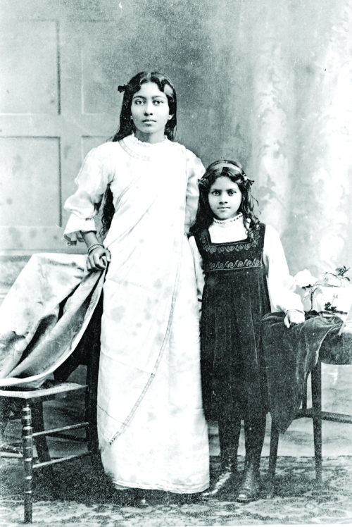 Figure 5. Suniti Majumdar and her friend Lalita, 1911