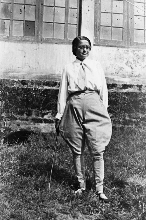 Figure 7. Shudha Mazumdar in riding breeches, 1933
